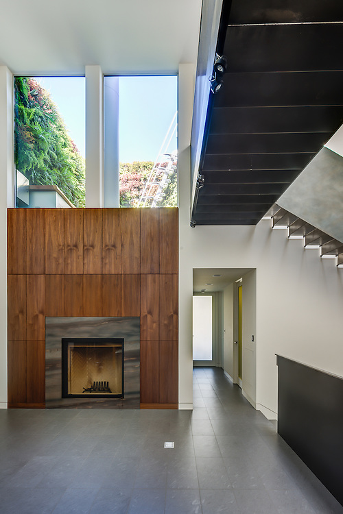 Modern style residential remodel