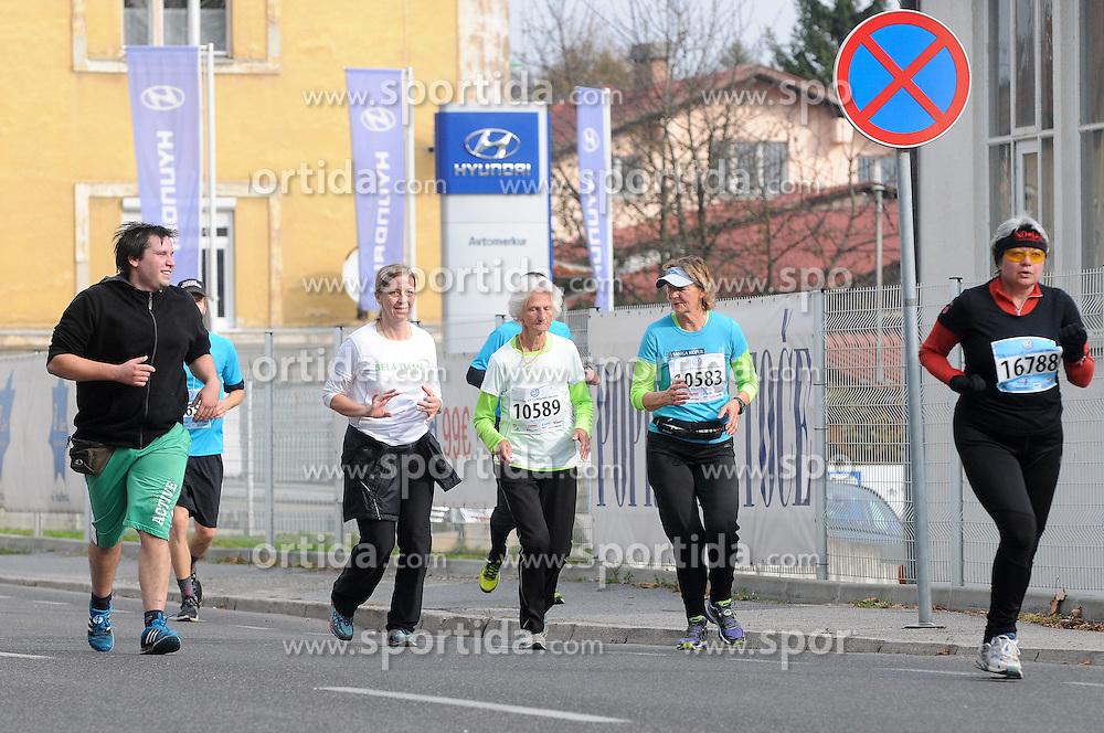 Helena Zigon at 19th Ljubljana Marathon 2014 on October 26, 2014 in Ljubljana, Slovenia. Photo by Matic Klansek Velej / Sportida