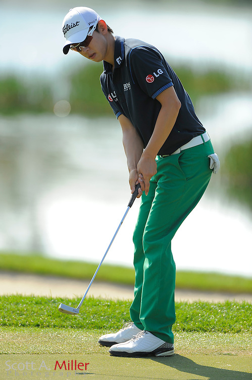 Seung-Yul Noh during the third round of the Honda Classic at PGA National on March 3, 2012 in Palm Beach Gardens, Fla. ..©2012 Scott A. Miller.