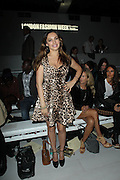 17.SEPTEMBER.2012. LONDON<br /> <br /> KELLY BROOK ATTENDS THE MARK FAST LFW CATWALK SHOW.<br /> <br /> BYLINE: EDBIMAGEARCHIVE.CO.UK<br /> <br /> *THIS IMAGE IS STRICTLY FOR UK NEWSPAPERS AND MAGAZINES ONLY*<br /> *FOR WORLD WIDE SALES AND WEB USE PLEASE CONTACT EDBIMAGEARCHIVE - 0208 954 5968*