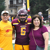 Football: Concordia University Chicago Cougars vs. Beloit College Buccaneers. Cougars handle the Buccaneers easily winning 30-10