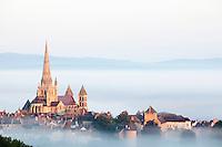 France, Saône-et-Loire(71), Autun, cathédrale Saint Lazare//France, Saône-et-Loire, Autun, Saint Lazare cathedral
