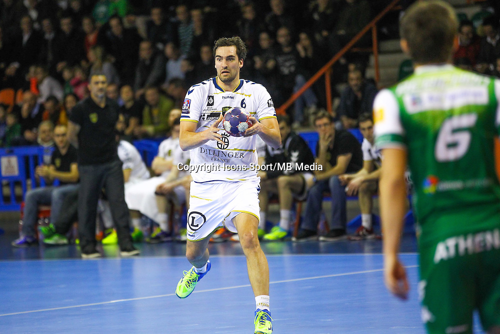 Kornel Nagy  - 04.03.2015 - Nimes / Dunkerque - 17eme journee de Division 1<br />