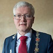 Hoofddorp 12-03-2014. Burgemeester van de Haarlemmermeer, Theo Weterings.