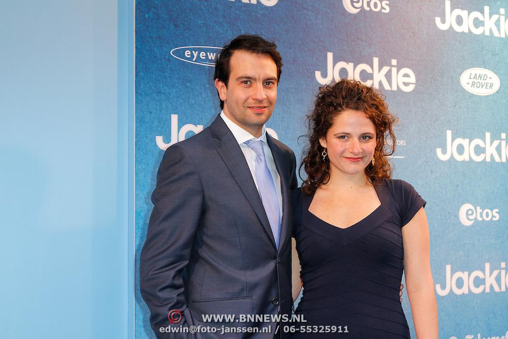 NLD/Amsterdam/20120507 - Premiere Jackie, Jeroen Spitzenberger en