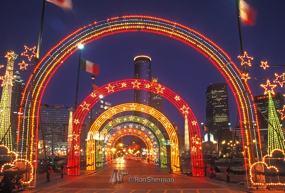 Christmas Lights Georgia