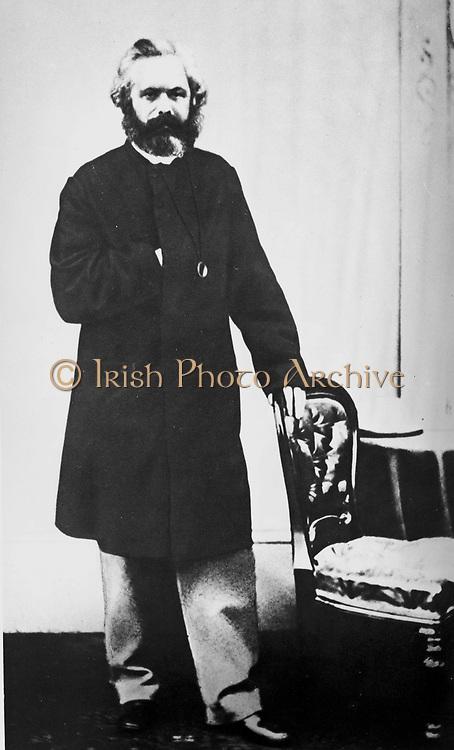 Karl Heinrich Marx (5 May 1818 – 14 March 1883) was a German philosopher, sociologist, economic historian, journalist, and revolutionary socialist. 1858