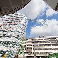 Nederland, Utrecht, 13 april 2017.<br /> Project Nieuwbouw Hoog Catharijne (NHC)<br /><br /><br /><br /><br />Foto: Jean-Pierre Jans