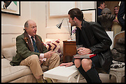 MARIO BUATTA; JOEL DONOVAN, Nicky Haslam hosts a party to launch a book by  Maureen Footer 'George Stacey and the Creation of American Chic' . With a foreword by Mario Buatta. Kensington. London. 11 June 2014