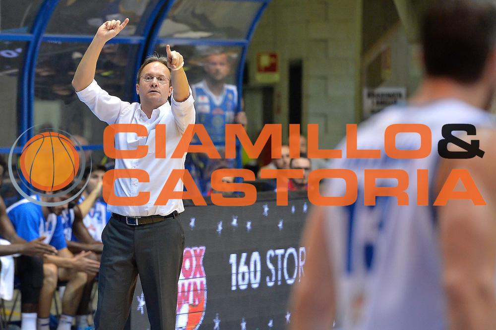 Federico Pasquini<br /> Red October Cantu' vs Banco di Sardegna Sassari<br /> Basket Serie A 2016/2017<br /> Milano 23/10/2016<br /> Foto Ciamillo-Castoria