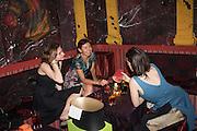 JULIA KOSUNIKOVA; JULIA IVANOVA; ANASTASIA LOPOUKHINE, Gazelli host The Colbert Art Party last night at  LouLou's, The Bauer in Venice, Venice Biennale, Venice. 7 May 2015