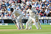 Wicket - Ishant Sharma of India is trapped LBW by Adil Rashid of England during second day of the Specsavers International Test Match 2018 match between England and India at Edgbaston, Birmingham, United Kingdom on 2 August 2018. Picture by Graham Hunt.