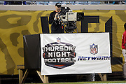 An NFL Network cameraman films the Jacksonville Jaguars NFL week 14 football game against the Houston Texans on Thursday, Dec. 5, 2013 in Jacksonville, Fla. The Jaguars won the game 27-20. ©Paul Anthony Spinelli