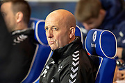 Rangers assistant manager Gary McAllister in the dugout before the Ladbrokes Scottish Premiership match between Rangers and Aberdeen at Ibrox, Glasgow, Scotland on 5 December 2018.
