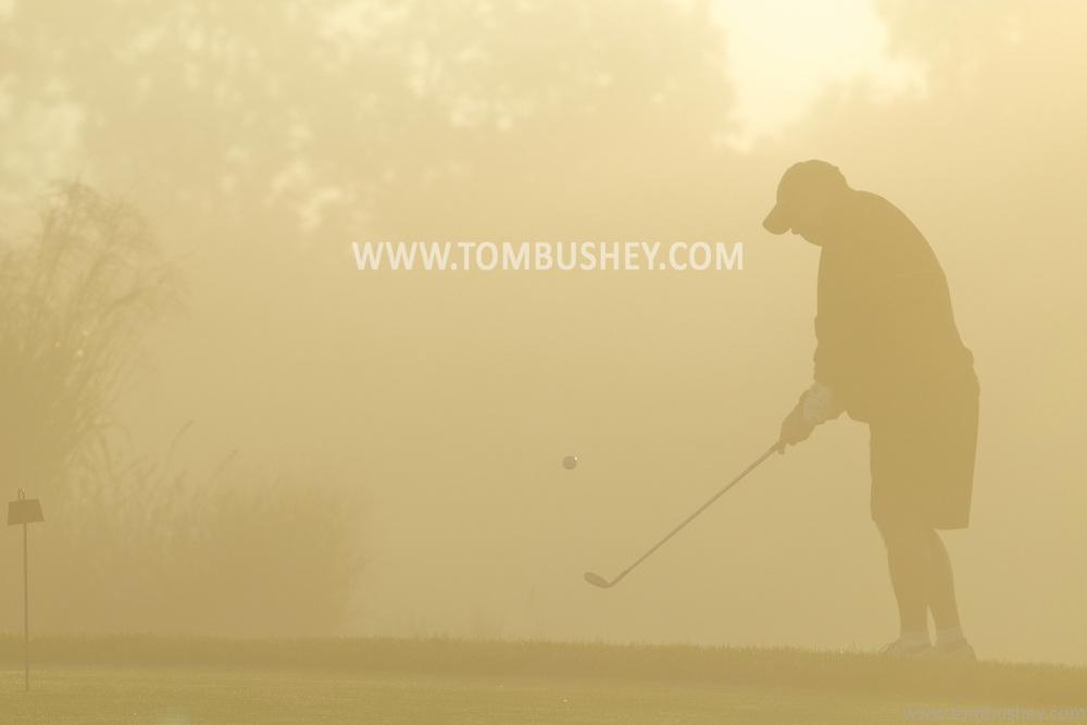 Hamptonburgh, New York  - Morning fog on Sept. 29, 2013.