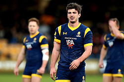 Sam Lewis of Worcester Warriors - Mandatory by-line: Robbie Stephenson/JMP - 28/01/2017 - RUGBY - Sixways Stadium - Worcester, England - Worcester Warriors v Harlequins - Anglo Welsh Cup