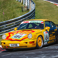 #494, Porsche 964 Cup, Porsche Cup Suisse, Class 56 over 2500 ccm, drivers: Ivan Reggiani, Jacoma Jvan, on 21/06/2019 at the  Nürburgring  ADAC 24h-Classic 2019