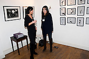 BECKY BELLMAN; BETHANY TANG, Modern Muse launch. Adam St. club. WC2. 25 November 2010. -DO NOT ARCHIVE-© Copyright Photograph by Dafydd Jones. 248 Clapham Rd. London SW9 0PZ. Tel 0207 820 0771. www.dafjones.com.