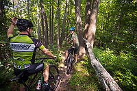 Mountain Biking at Glacial Hills in Antrim County