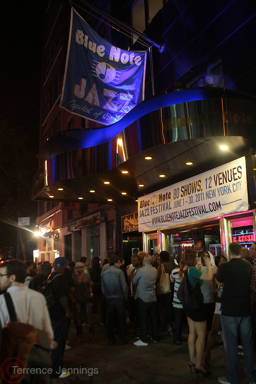22 June-New York, NY-  Atmosphere at the Mo' Meta Blues II Paid in Full 25th Anniversary with Rakim, Black Thought & The Roots Produced by Jill Newman Productions as part of the Blue Note Jazz Festival and held at the Blue Note on June 22, 2011 in New York City. Photo Credit: Terrence Jennings