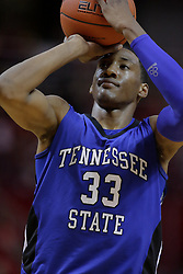 17 November 2010: Robert Covington during an NCAA basketball game between the Tennessee State Tigers and the Illinois State Redbirds at Redbird Arena in Normal Illinois.