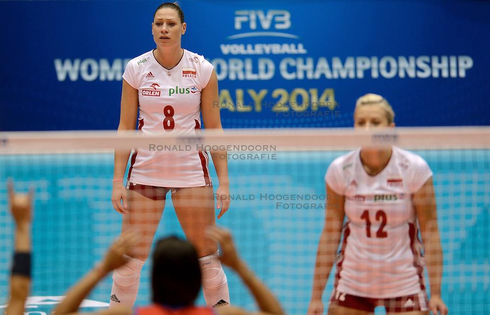 09-08-2014 NED: FIVB Grand Prix Puerto Rico - Polen, Doetinchem<br /> Katarzyna Zaroslinska