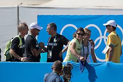 Melchior Judy Ann, BEL, Ahlmann Christian, GER,<br /> Olympic Games Rio 2016<br /> © Hippo Foto - Dirk Caremans<br /> 14/08/16