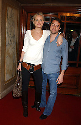 KALITA AL-SWAIDI and ARIS PISSIOTIS at the Myla Debutantes Coming-Out show held at The Porchester Hall, Porchester Road, London on 31st January 2006.<br />