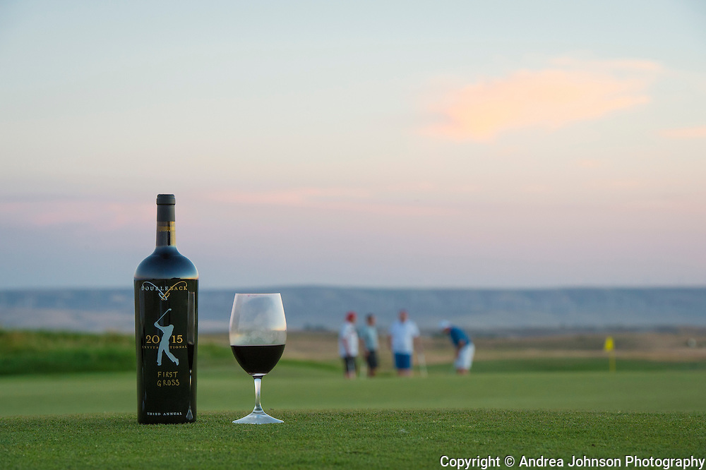 Doubleback golf tournament & cellar club party 2015, Walla Walla,Washington