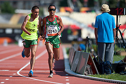ZAPIEN Luis Guide: SANTILLAN Mario, MEX, 10000m, T12, 2013 IPC Athletics World Championships, Lyon, France