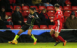 Liam Sercombe of Bristol Rovers takes on Joe Edwards of Walsall - Mandatory by-line: Robbie Stephenson/JMP - 26/12/2017 - FOOTBALL - Banks's Stadium - Walsall, England - Walsall v Bristol Rovers - Sky Bet League One