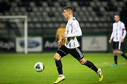 Jon Šporn of Mura during football match between NŠ Mura and NK Aluminij in 17th Round of Prva liga Telekom Slovenije 2019/20, on November 10, 2019 in Fazanerija, Murska Sobota, Slovenia. Photo by Blaž Weindorfer / Sportida