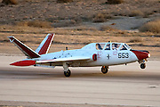 Israeli Air force (IAF) Fouga Magister CM-170 at take off