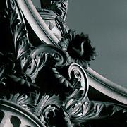 Nelson's Column , Bluetone , polapan , B&W film ,
