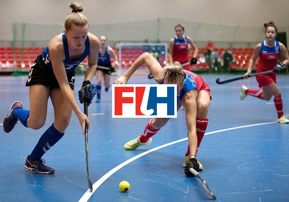 BERLIN - Indoor Hockey World Cup<br /> United States - Namibia<br /> foto: Corinne Zanolli <br /> WORLDSPORTPICS COPYRIGHT FRANK UIJLENBROEK