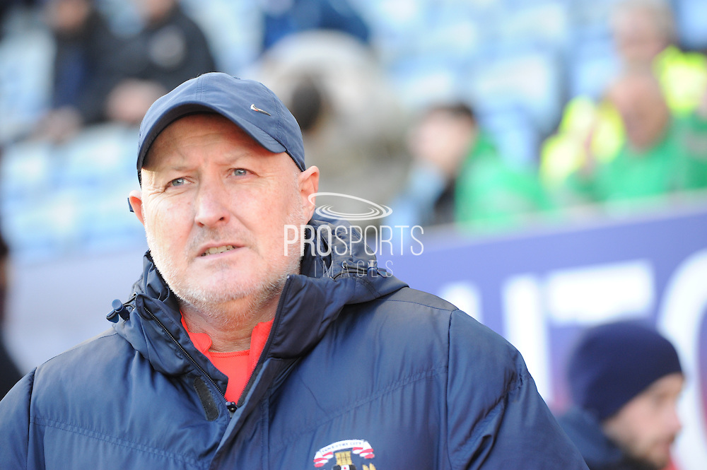 Coventry City manager Russell Slade during the EFL Sky Bet League 1 match between Coventry City and Millwall at the Ricoh Arena, Coventry, England on 4 February 2017. Photo by Andy Handley.