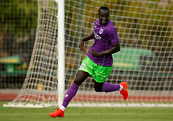 Famara Diedhiou of Bristol City - Mandatory by-line: Matt McNulty/JMP - 22/07/2017 - FOOTBALL - Tenerife Top Training - Costa Adeje, Tenerife - Bristol City v Atletico Union Guimar  - Pre-Season Friendly