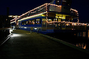 Christmas Lights on cruise boat  At The Coeur d'Alene Resort<br /> Coeur d' Alene Idaho
