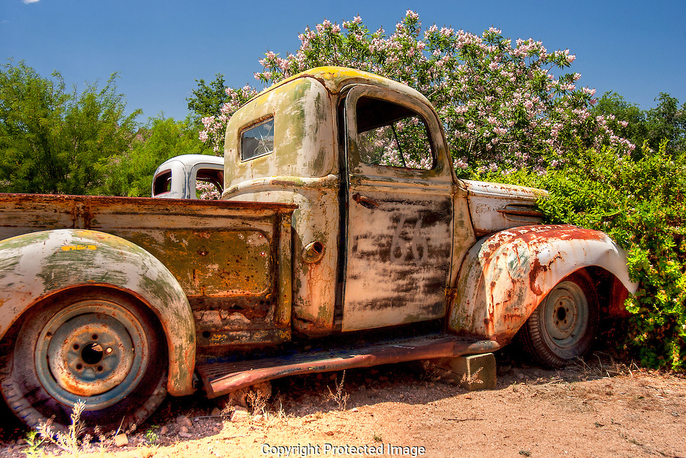 Unloved 1946 Ford pickup