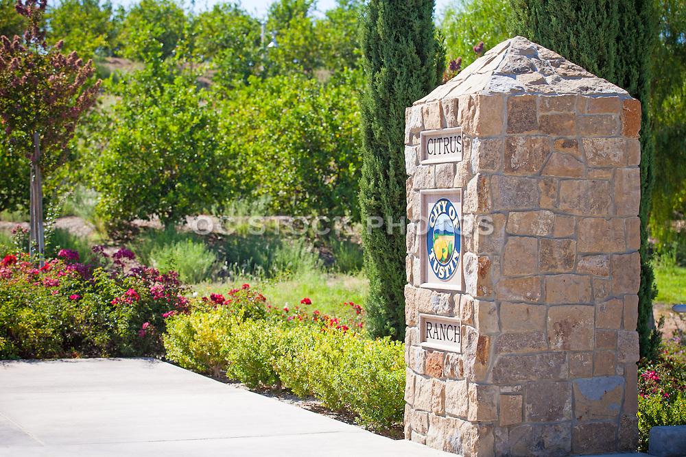 Citrus Ranch Park Monument Tustin