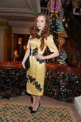 OLIVIA GRANT at the Claridge's Christmas Tree By Dolce & Gabbana Launch Party held at Claridge's, Brook Street, London on 26th November 2013.