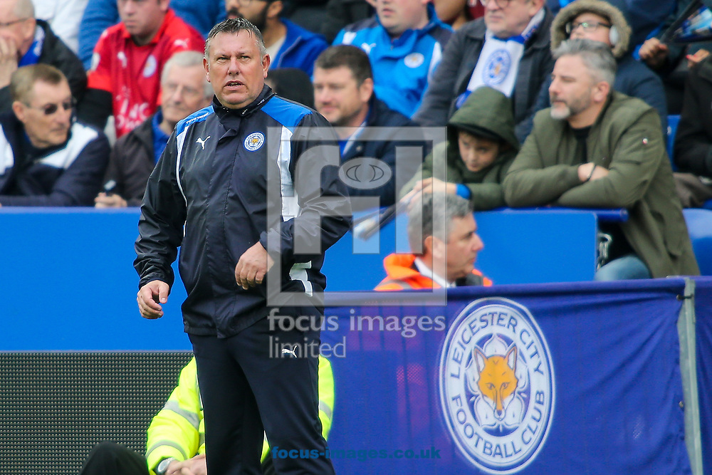 Leicester City caretaker manager Craig Shakespeare during the Premier League match at the King Power Stadium, Leicester<br /> Picture by Andy Kearns/Focus Images Ltd 0781 864 4264<br /> 01/04/2017