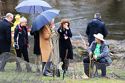 15.03.2016, Osijek, CRO, der Britische Kronprinz Charles und seine Frau Camilla besuchen Kroatien, im Bild His Royal Highness the Prince of Wales visited the Nature Park Kopacki Rit and Zlatna Greda Eco Centre where he was welcomed by Minister of Regional Development and EU Funds Tomislav Tolusic and Jasmin Sidakovic, president of the Eco Centre Golden Beam. EXPA Pictures © 2016, PhotoCredit: EXPA/ Pixsell/ Davor Javorovic<br /> <br /> *****ATTENTION - for AUT, SLO, SUI, SWE, ITA, FRA only*****