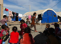 December 4, 2016 - Mosul, Iraq - Internally Displaced People fleeing ISIS from Mosul as Iraqi Security Forces move to clear the city of the terror network adjust to life at Khazir Camp in Kurdistan Region. (Credit Image: © ZUMA Wire via ZUMA Wire)