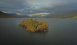 Castle Kirk Island (Hen Island), Granuaile's castle.&nbsp;<br />Pic Conor McKeown