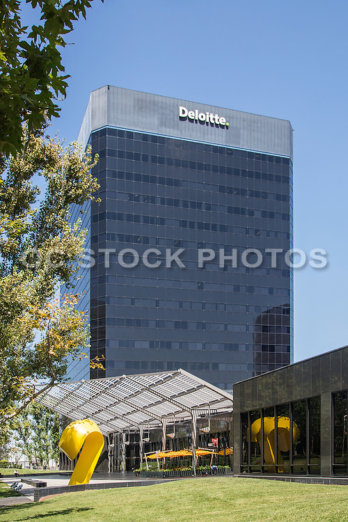 Deloitte Building at South Coast Metro Costa Mesa California