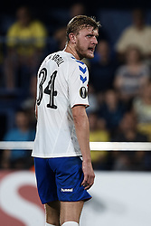 September 20, 2018 - Vila-Real, Castellon, Spain - Joseph Worrall of Rangers looks back during the UEFA Europa League group G match between Villarreal CF and Rangers at Estadio de la Ceramica on September 20, 2018 in Vila-real, Spain  (Credit Image: © David Aliaga/NurPhoto/ZUMA Press)