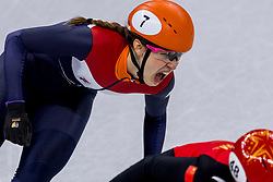 17-02-2018 KOR: Olympic Games day 8, PyeongChang<br /> 1500 m / Suzanne Schulting #7 of the Netherlands