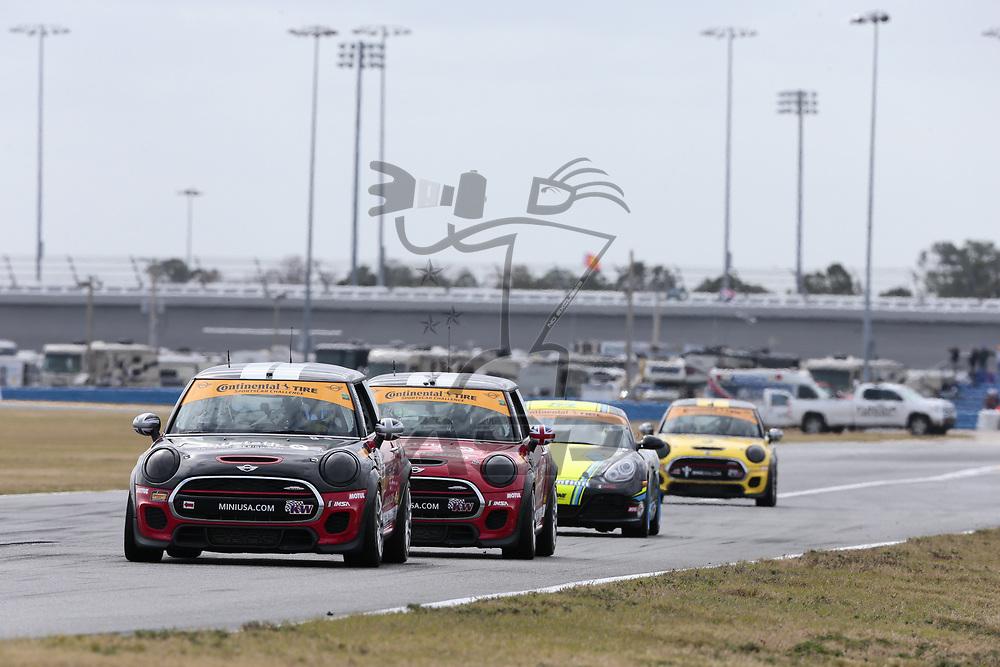 January 26, 2018 - Daytona Beach, Florida, USA:  The Continental Tire SportsCar Challenge teams race at the BMW Endurance Challenge At Daytona at Daytona International Speedway in Daytona Beach, Florida.