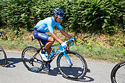Nairo Quintana (COL - Movistar) during the 105th Tour de France 2018, Stage 6, Brest - Mur de Bretagne Guerledan (181km) in France on July 12th, 2018 - Photo Luca Bettini / BettiniPhoto / ProSportsImages / DPPI
